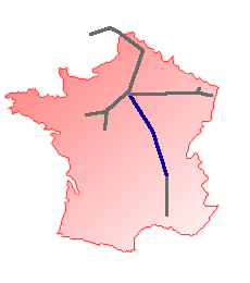 French TGV Network