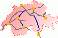 Swiss Rail 2000 Network